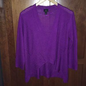 NWOT Worthington 3/4 sleeve lightweight knit wrap
